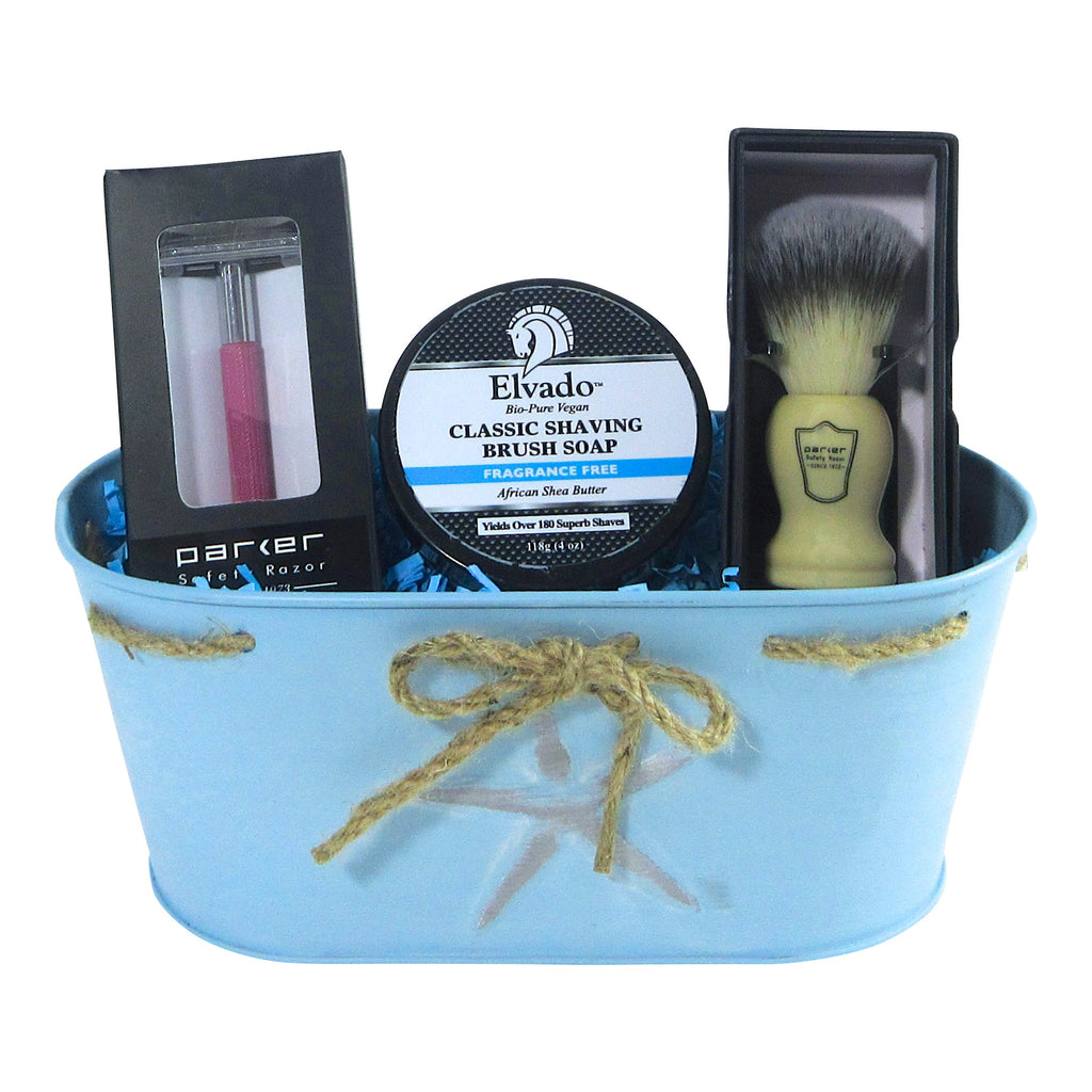 Ladies Safety Razor Shaving Set