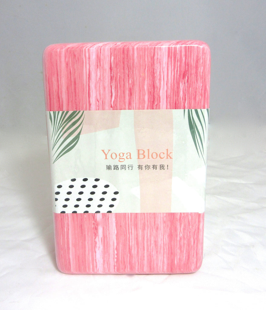 High Density Eco Friendly Custom POE Yoga Block (available in 4 colors)