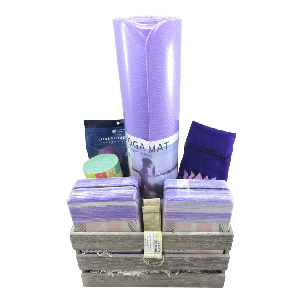 Completely Yoga Basket - Lavender Purple
