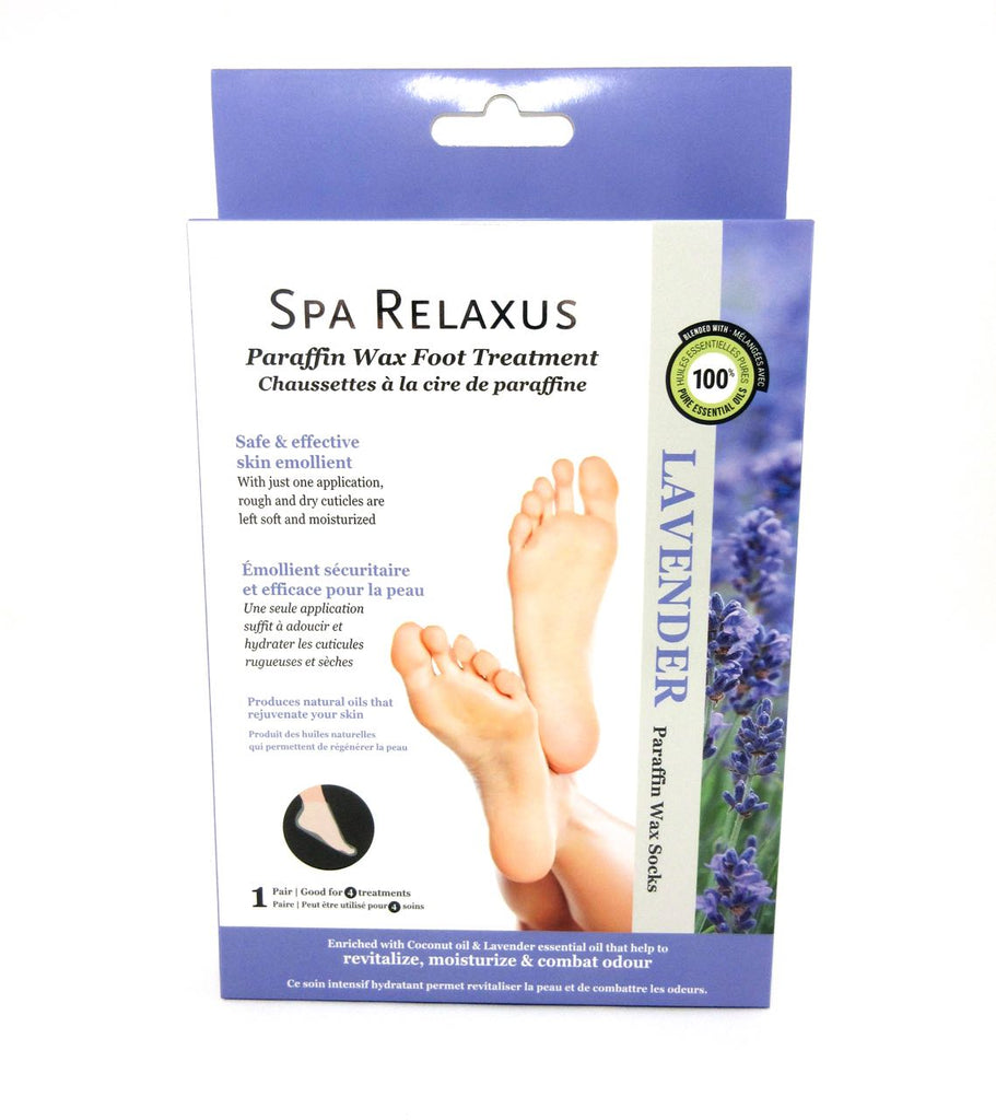 Spa Relaxus Lavender Paraffin Wax Foot Treatment