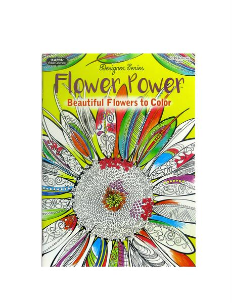 Coloring Book - Flower Power