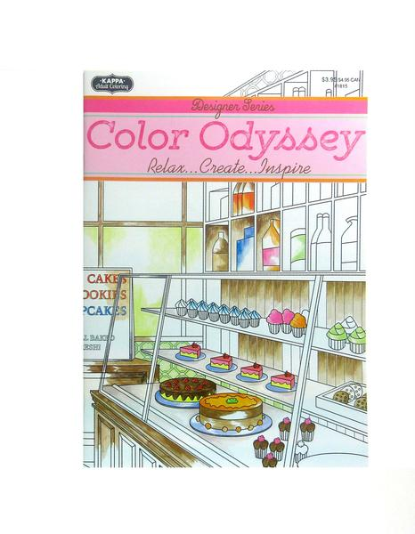 Coloring Book - Color Odyssey