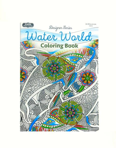 Coloring Book - Water World