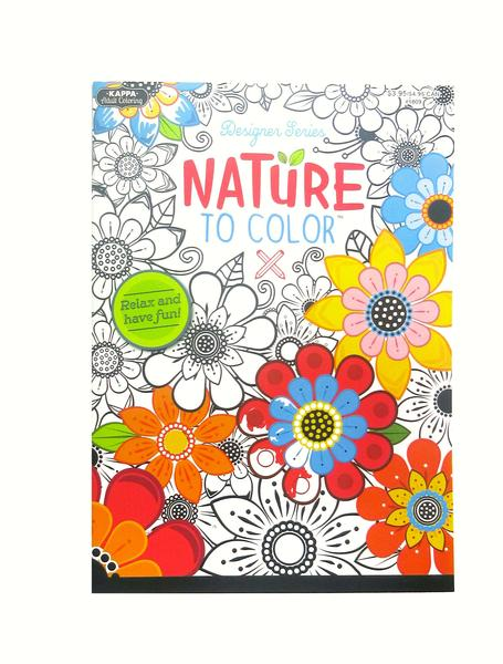 Coloring Book - Nature