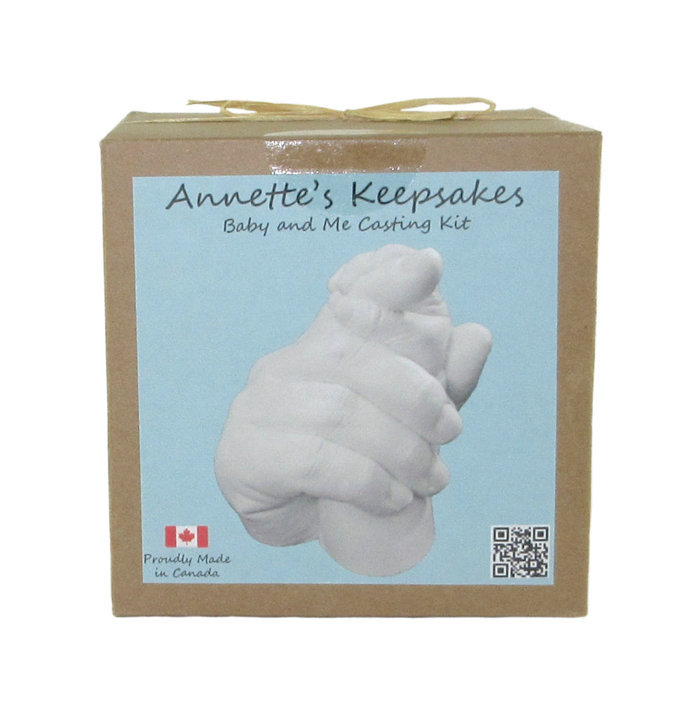 Annette's Keepsakes - Baby and Me Casting Kit