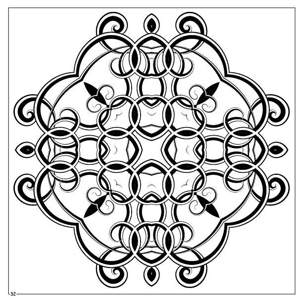 Coloring Book - Magic Mandalas