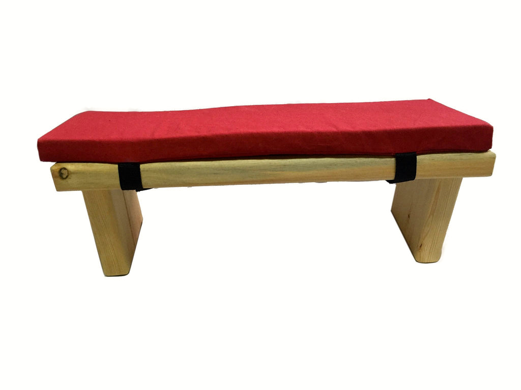 Dream Design's Pine Meditation Bench