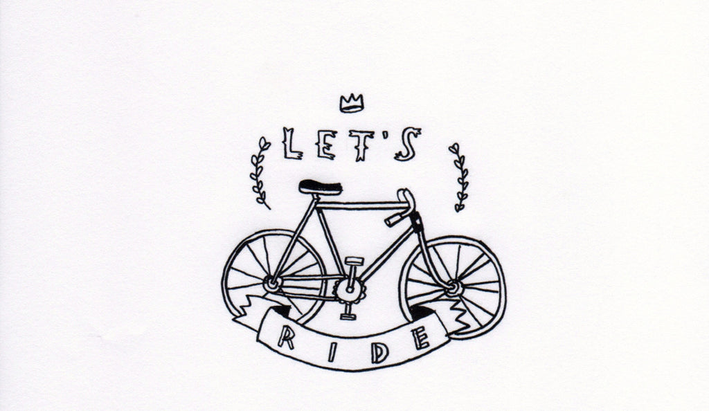 Tattly Temporary Tattoos - Let's Ride (set of 2)