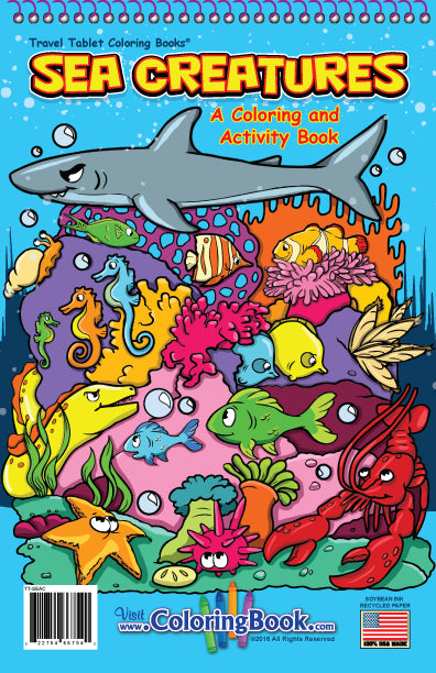 Coloring Book - Sea Creatures