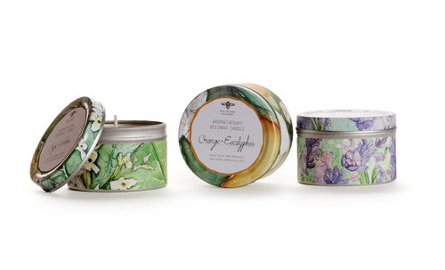 Big Dipper Wax Works - Pure Beeswax Verdure Collection Aromatherapy Tins