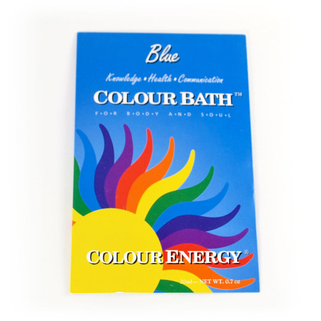 Colour Energy Blue Colour Bath