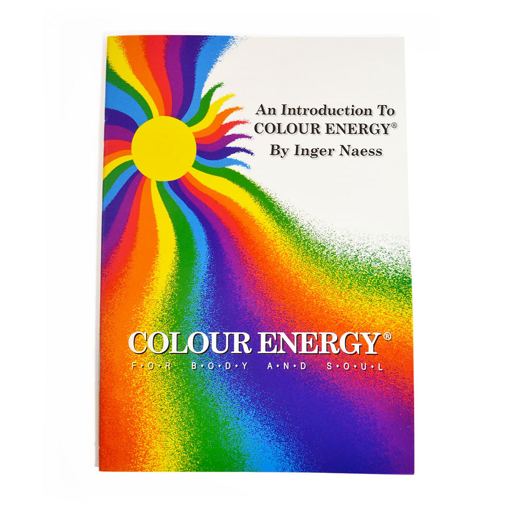 Color Energy Booklet - an introduction to Color Energy + 3 leaflets