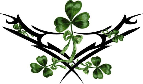 Stray Tats Temporary Tattoos - Shamrock (lower back tattoo)