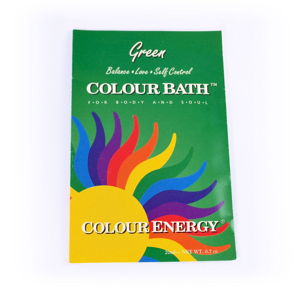 Colour Energy Green Colour Bath