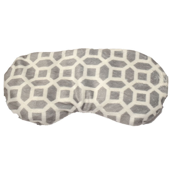 Natural Clay Bead Aromatherapy Eye Mask - Octagon