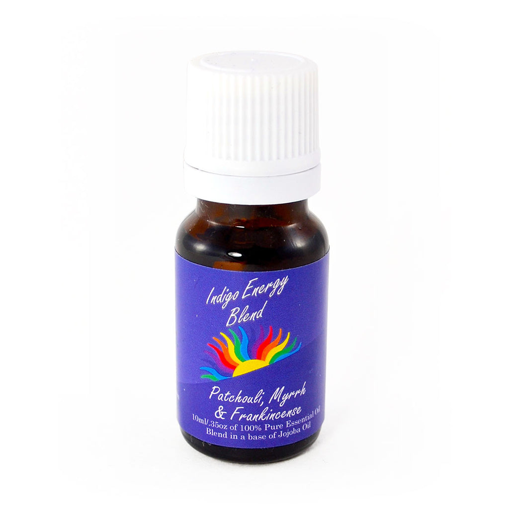 Colour Energy Indigo Energy Essential Oil 10 ml (Patchouli, Myrrh & Frankincense)