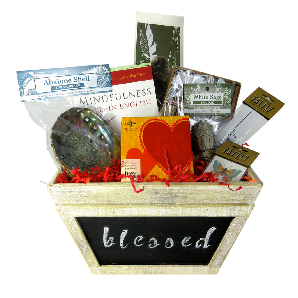 Meditation Basket - Smudging With Love