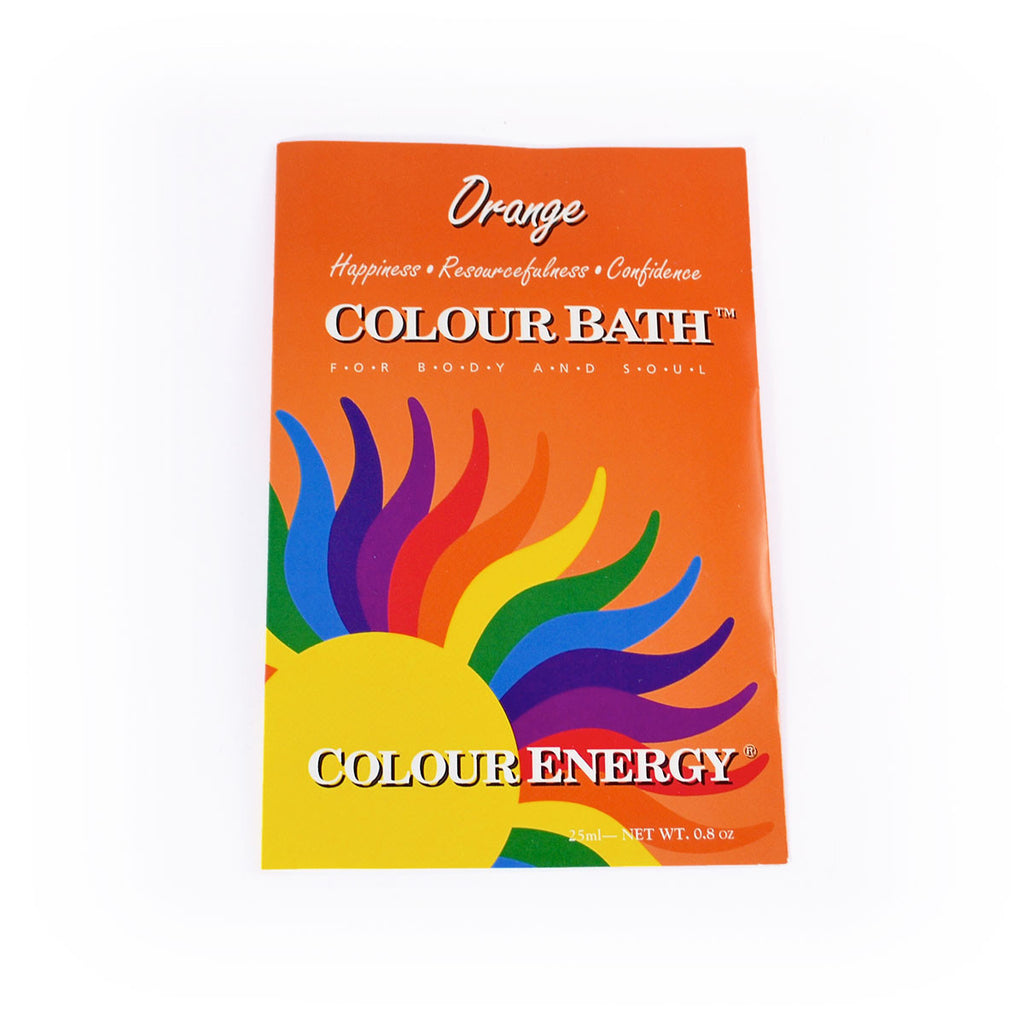 Colour Energy Orange Colour Bath