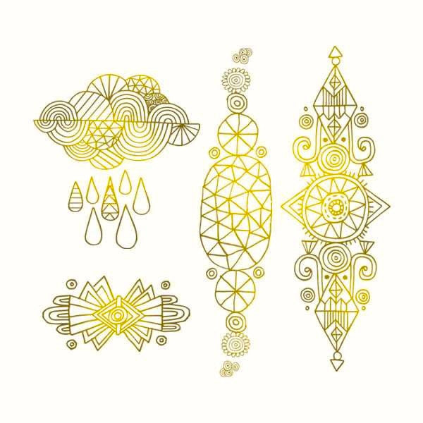 Tattly Temporary Tattoos - Radiant Set