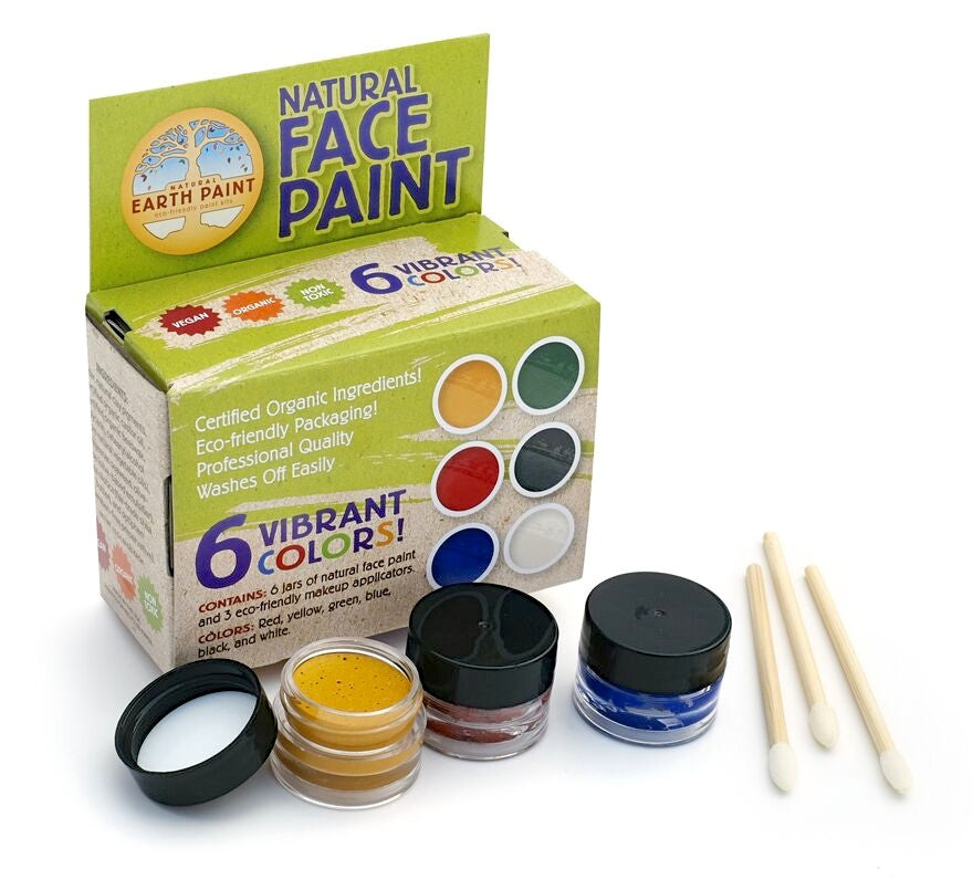 Natural Earth Paint - Natural Face Paint