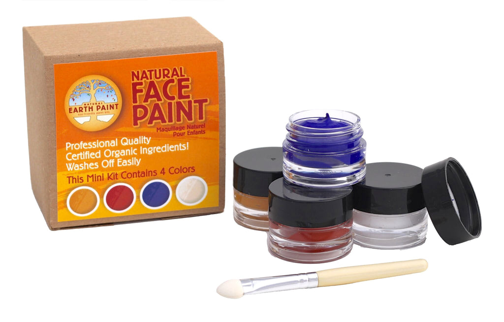 Natural Earth Paint - Natural Face Paint Mini Kit