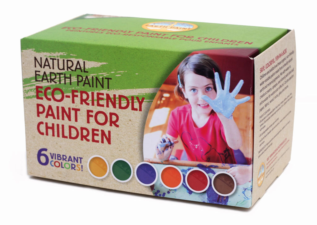 Natural Earth Paint - Children's Earth Paint Kit