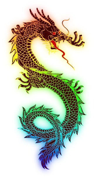 Stray Tats Temporary Tattoos - Dragon #2