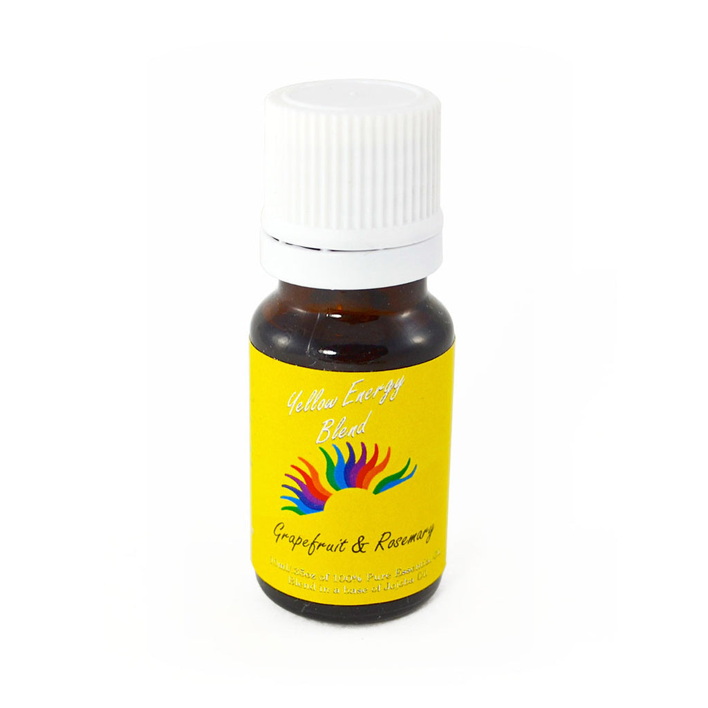 Colour Energy Yellow Energy Essential Oil 10 ml (Grapefruit & Rosemary)