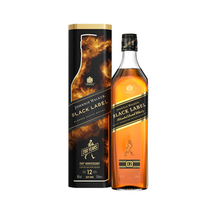 Johnnie Walker Black Label 40% 0.70L poklon pakovanje limenka