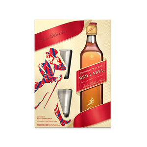 Johnnie Walker Red Label 40% 0.70L poklon pakovanje sa 2 čaše