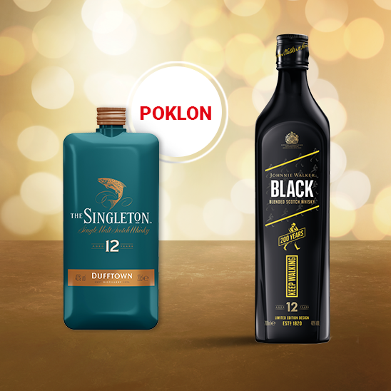 Johnnie Walker Black Label 40% 0.70L ICONS