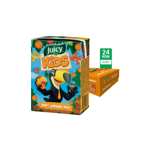 Juicy Kids gusti 100% 0.2L 24/1
