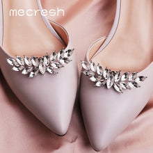 Load image into Gallery viewer, Mecresh 2pcs  Cute Leaf Shape Crystal Bride High Heels Clips - TrendsfashionIN