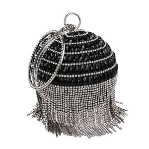 Golden Diamond Tassel Women Clutches Bags - TrendsfashionIN
