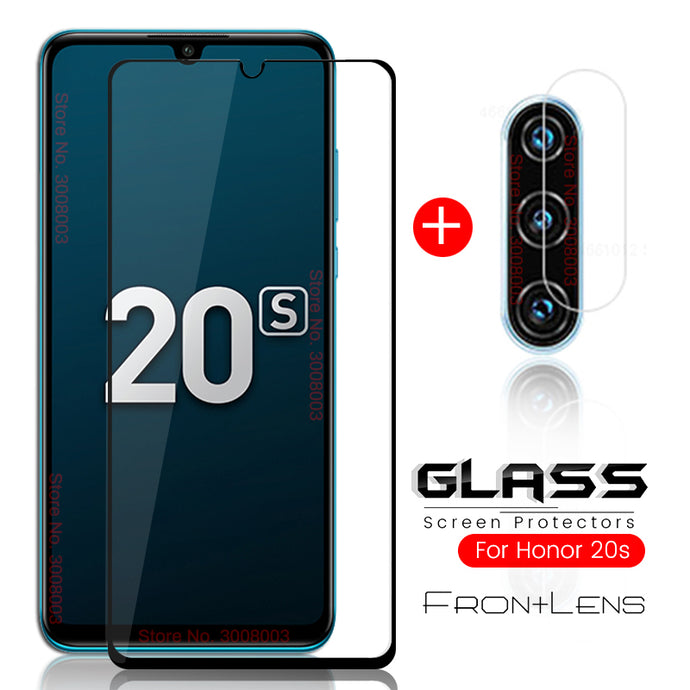 2-in-1 honor 20s protective glass for huawei honor 20s - TrendsfashionIN