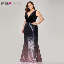 Load image into Gallery viewer, Women Plus Size Mother Of Bride Dress - TrendsfashionIN