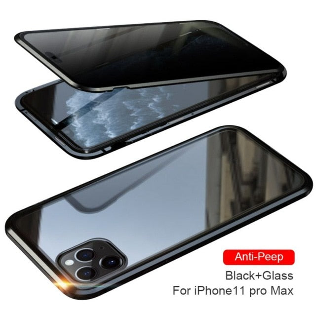 Magnetic Privacy Protective Case For iPhone - TrendsfashionIN