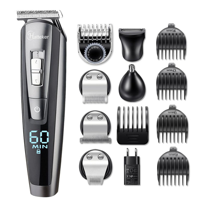 Professional hair trimmer waterproof 5 in 1 electric hair cutting machine - TrendsfashionIN