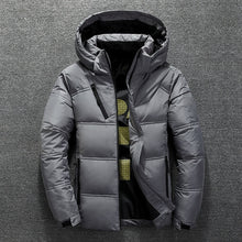 Load image into Gallery viewer, Men's Winter Down Jacket With Hood