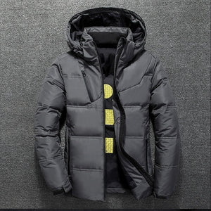 Men's Winter Down Jacket With Hood