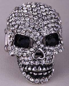 Skull skeleton brooch pin women jewelry - TrendsfashionIN