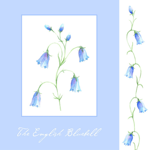Blank Card - Bluebells - 4L1