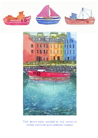 Birthday Card -  River Scene 1 - 4L13