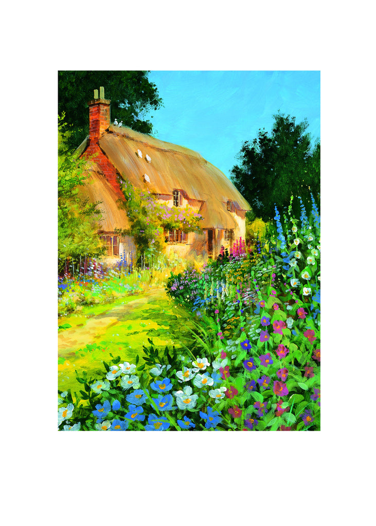 Blank Card - Thatched Cottage - 4L18