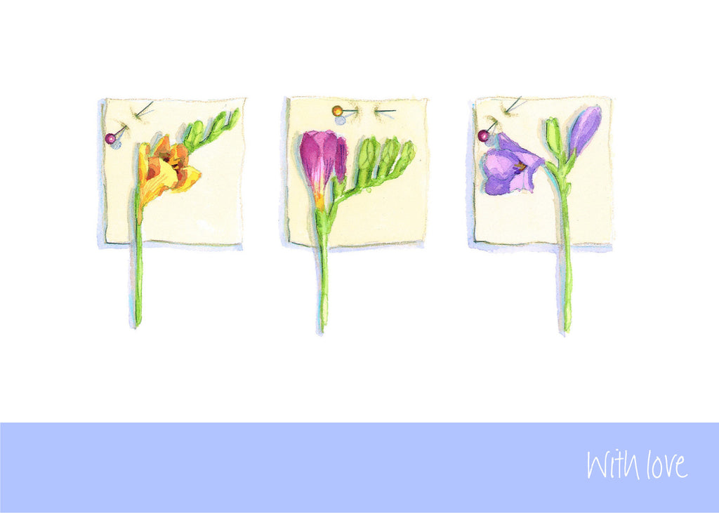 Blank Card - Floral - 4L21