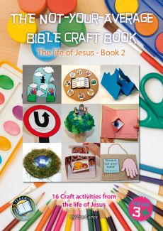 THE NOT-YOUR-AVERAGE BIBLE CRAFT BOOK 2