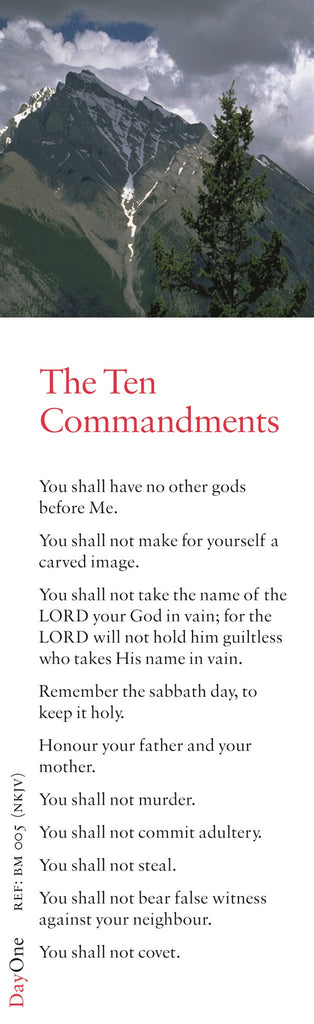 10 Commandments (NJKV)