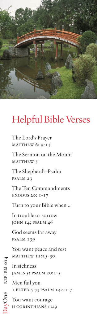 Helpful Bible verses