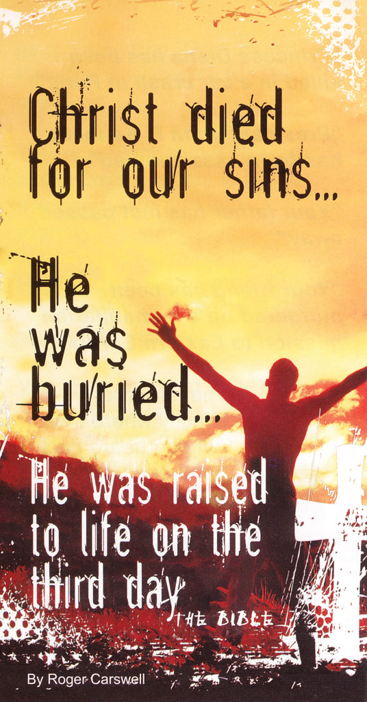 Christ died for our sins tract