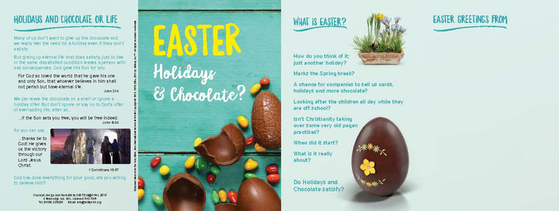 TELIT - Easter Holidays and Chocolate